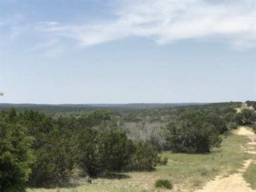 20 Ac, Hunting, Exotics, Views : Rocksprings : Edwards County : Texas