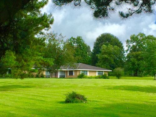 Executive Home On Acreage : Woodville : Wilkinson County : Mississippi