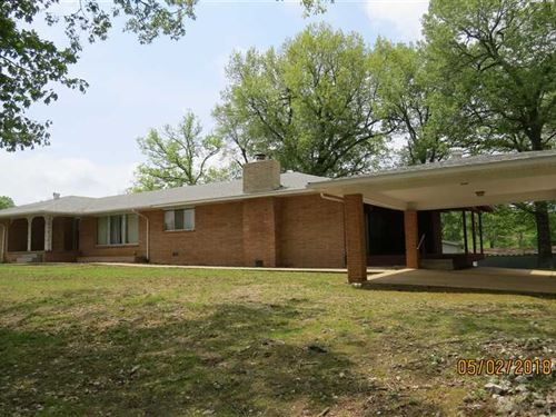 Price Reduced, Large Home on 9 Ac : Marshall : Searcy County : Arkansas