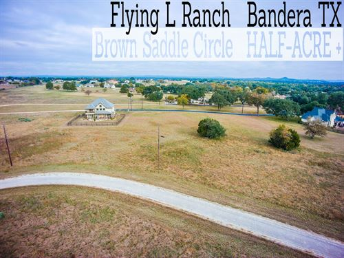 .57 Acres In Bandera County : Bandera : Texas