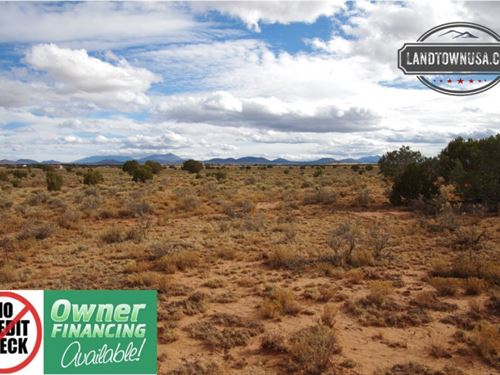 1.37 Acre Lot In Valle, Az Minutes : Williams : Coconino County : Arizona