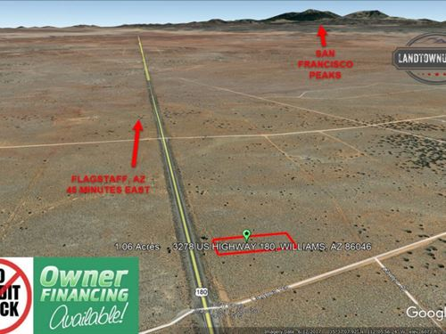 1.06 Acre In Valle, Az Hwy 180 Fro : Williams : Coconino County : Arizona