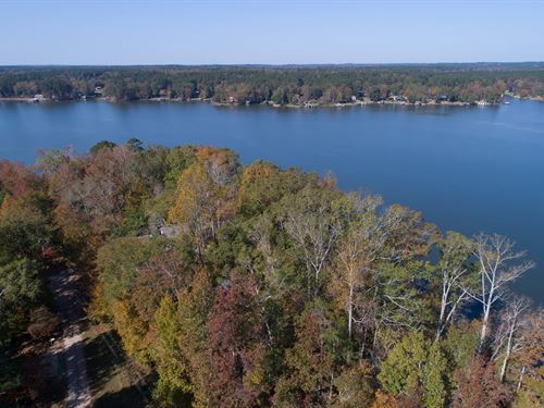 Open Views Of Lake Sinclair : Sparta : Hancock County : Georgia