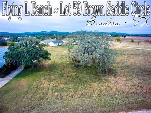 .33 Acres In Bandera County : Bandera : Texas