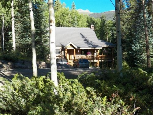 Wager Creek Home With Acreage : Lake City : Hinsdale County : Colorado