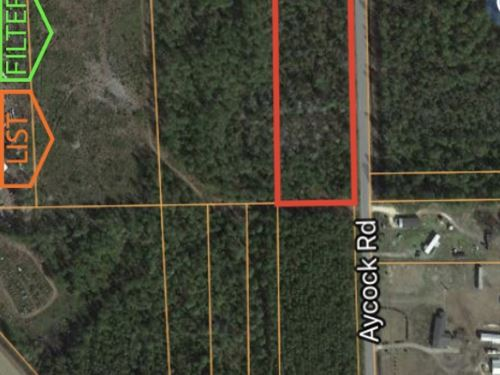 6 Acres Great Homesite Will Divide : Waycross : Ware County : Georgia