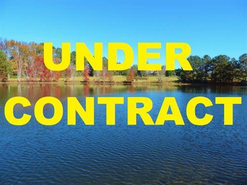 Reduced - 3 Acre Pond With House : Eatonton : Putnam County : Georgia