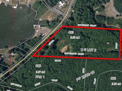 Lake View Residential Land : Lincoln City : Lincoln County : Oregon