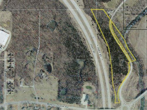 Commercial Development Land : Columbia : Boone County : Missouri