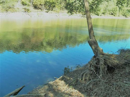 6Ac Riverfront Fishing Cabin $95K : Shirley : Cleburne County : Arkansas