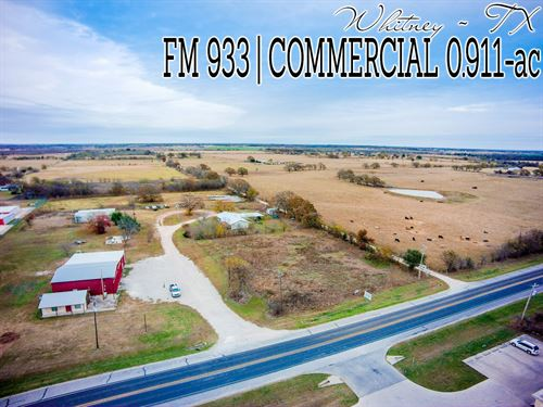 .91 Acres In Hill County : Whitney : Hill County : Texas