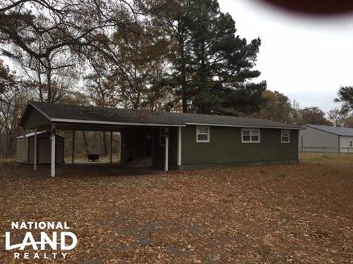 Hunter's Cabin / House Near Bayou : Humphrey : Arkansas County : Arkansas