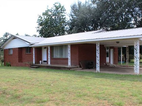 Home on 14.75 Acres For Sale in Du : Clarkton : Dunklin County : Missouri