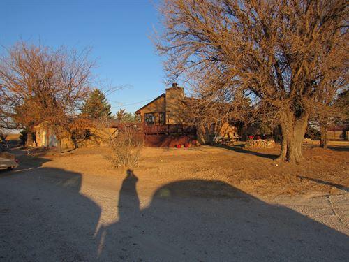 Nice Rural Home In Cimarron : Cimarron : Gray County : Kansas