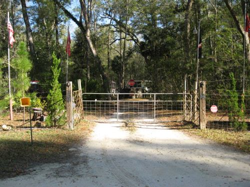 2.91 Acres Rv Ready 771143 : Old Town : Dixie County : Florida