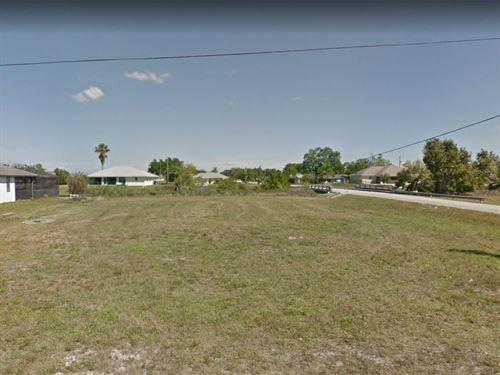 .39 Acres In Cape Coral, FL : Cape Coral : Lee County : Florida