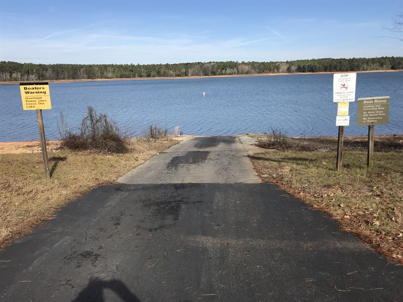 Lakefront Living Lot For Sale Tignall Lincoln County
