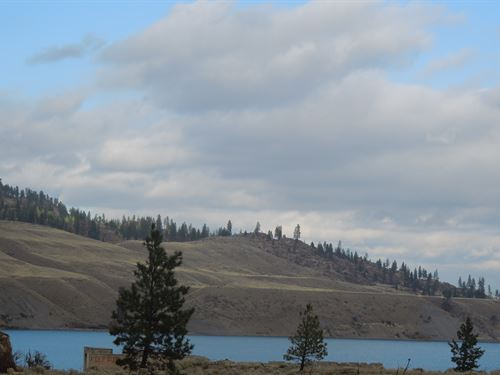 Lincoln Mill On Lake Roosevelt : Lincoln : Washington