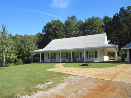 16.08 Acres W/Home In Lee County : Guntown : Lee County : Mississippi