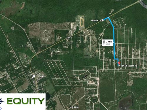Fsbo Vacant Land Seller Finance 10 : Satsuma : Putnam County : Florida