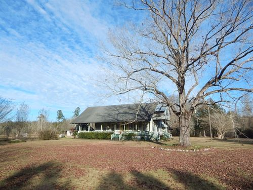 Home And 5 Acres Near Ms/La Stateli : Osyka : Pike County : Mississippi