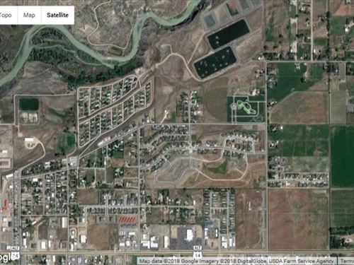 Vacant Lot in Residential Area in : Cody : Park County : Wyoming