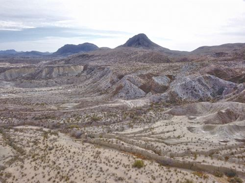 Cheap Off Grid Desert Acreage : Terlingua : Brewster County : Texas