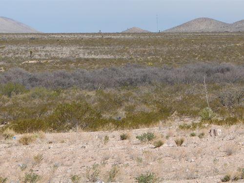 10 Acres In Sierra Blanca, TX : Sierra Blanca : Hudspeth County : Texas