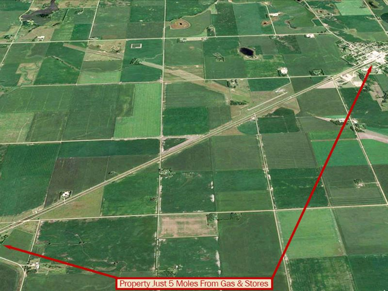Nearly 5 Acres Of Rural Land : Norcross : Grant County : Minnesota