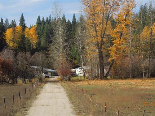 Marty Creek Ranch : Newport : Pend Oreille County : Washington