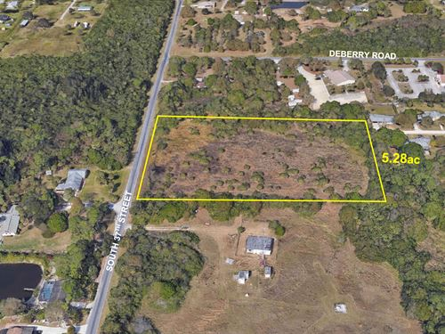 5.28Ac Residential Parcel : Fort Pierce : Saint Lucie County : Florida