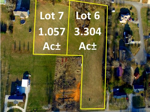 4.36 Ac In 2 Lots With Mtn Views : Cookeville : Putnam County : Tennessee