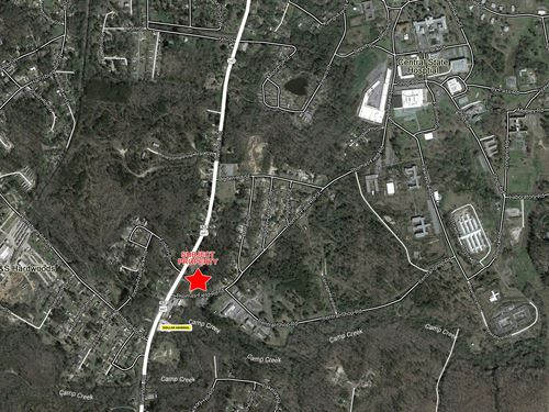 2.5 Acre Corner Lot For Sale : Milledgeville : Baldwin County : Georgia