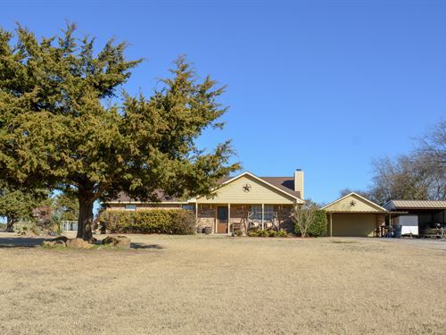 Country Home. 3 Bdrm, 2 Bath : Sulphur Springs : Hopkins County : Texas