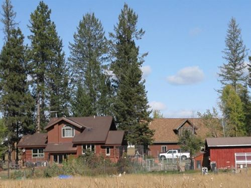 Farm To Market Homestead : Whitefish : Flathead County : Montana
