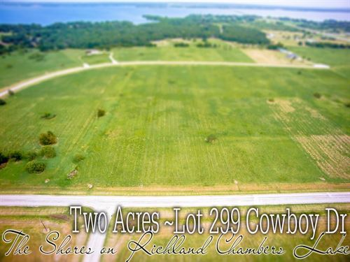 2.01 Acres In Navarro County : Corsicana : Navarro County : Texas