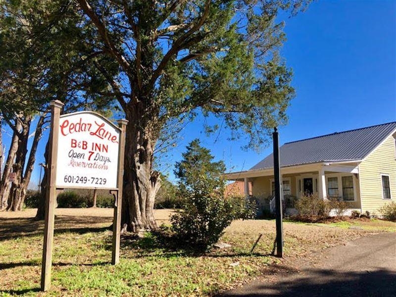 Beautiful B & B On 1.5 Acres : Gloster : Amite County : Mississippi