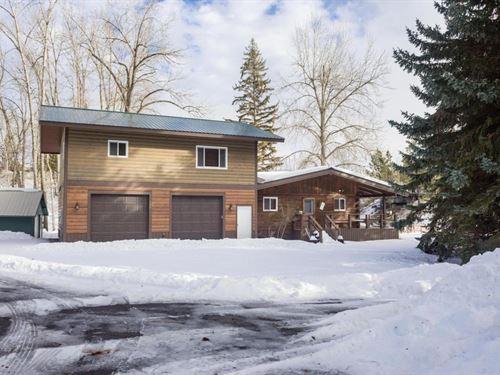 Flathead Lake Cabin : Bigfork : Flathead County : Montana