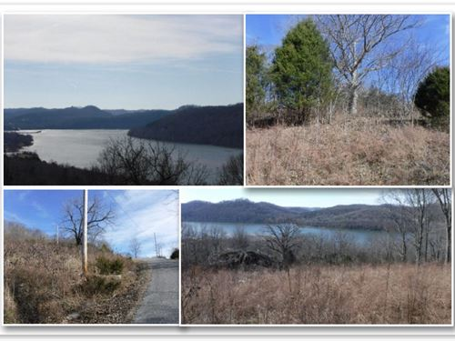 3.41Ac W/Cordell Hull Lake Views : Granville : Jackson County : Tennessee