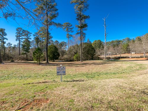 Lot 30 In Coveted Fox Valley : Monroe : Walton County : Georgia