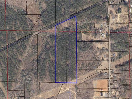 13.5 +/- Acre Home Site Alex City : Alexander City : Tallapoosa County : Alabama