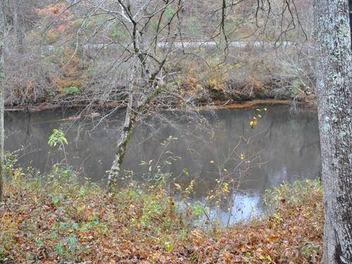 Tallapoosa River Lot 9 : Muscadine : Cleburne County : Alabama