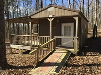 This 12 Acres With a Small Cab : Locust Grove : Independence County : Arkansas