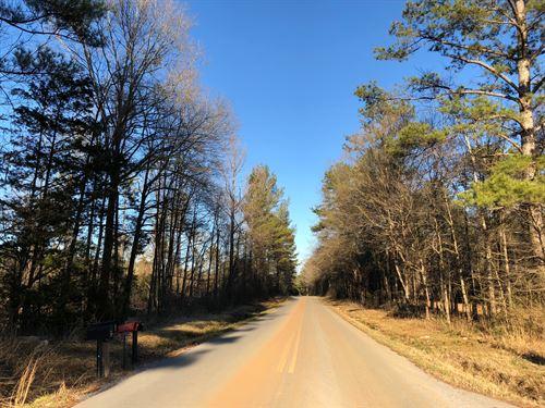 11.74 +/- Wooded Acres, Polk County : Cedartown : Polk County : Georgia
