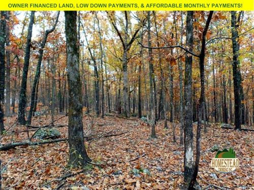 3.2 Acre Home-Site, Beautiful Views : Rockbridge : Ozark County : Missouri