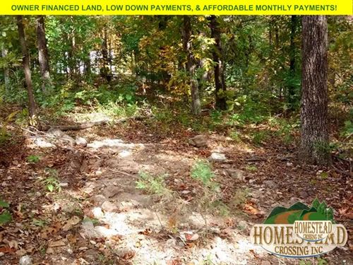 Unrestricted Land With Electric : Ozark Acres : Sharp County : Arkansas