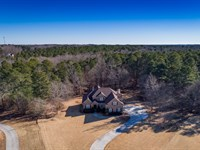 Custom Estate Home W/ Lake Frontage : Monroe : Walton County : Georgia