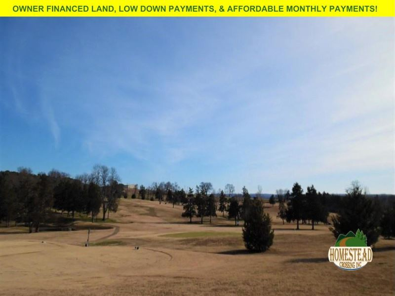 Golf Course Building Lot : Diamond City : Boone County : Arkansas