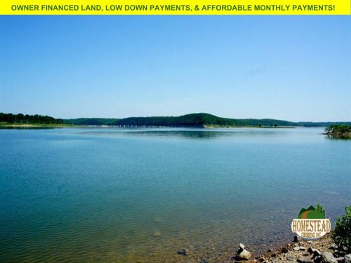 Building Lot, Lake View From Lot : Diamond City : Boone County : Arkansas