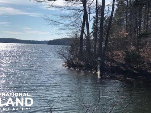Waterfront Mayo Lake 2.49 Acres : Roxboro : Person County : North Carolina